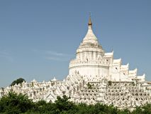 Hsinbyume Paya, Mingun, Mandalay, Myanmar Stock Photo