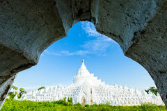 Hsinbyume, Prinses White Elephant Mingun, Myanmar 2013 royalty-vrije stock afbeeldingen