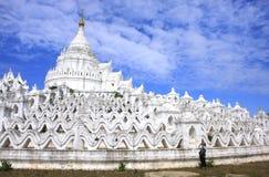 Hsinbyumepagode in Mingun, Mandalay, Myanmar Royalty-vrije Stock Foto's