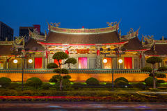 Hsing Tian Kong at night Stock Photo