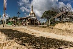 Hsipaw, Myanmar Fotos de Stock Royalty Free
