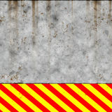 Hsl red yellow grunge hazard Stock Photography