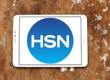 HSN, λογότυπο δικτύων εγχώριων αγορών Στοκ εικόνες με δικαίωμα ελεύθερης χρήσης