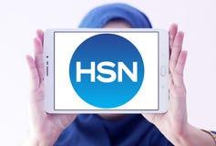 HSN, λογότυπο δικτύων εγχώριων αγορών Στοκ εικόνα με δικαίωμα ελεύθερης χρήσης