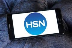 HSN nätverkslogo för hem- shopping Arkivbild
