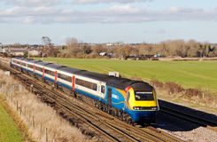 HST 125 express train 30 years on Royalty Free Stock Photography