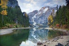 Höst i Alps Royaltyfria Foton