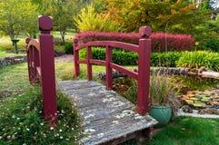 Hösten parkerar Bisley trädgård Royaltyfria Foton