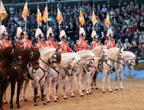 Hästshow Arkivfoto
