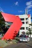 HSV-de post van TV - Uitzendingscentrum Melbourne Royalty-vrije Stock Afbeelding