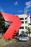 HSV-TV-station - TV-sändningmitt Melbourne Royaltyfri Bild