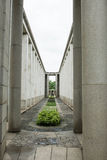 Htauk Kyant War Memorial Cemetery In Yangon, Myanmar. Royalty Free Stock Image