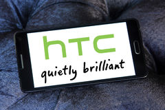Htc logo Obrazy Royalty Free