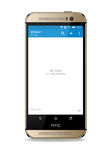 Htc one m8. Smartphone with open new task on screen. HTC is a Taiwanese multinational manufacturer of smartphones and tablets. Editorial use only Royalty Free Stock Photography