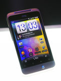 HTC Smart Phone. HTC released new model salsa on June 8, 2011 in Taiwan Royalty Free Stock Image