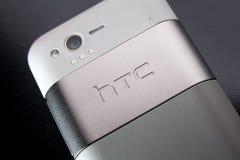Htc smartphone Fotografering för Bildbyråer