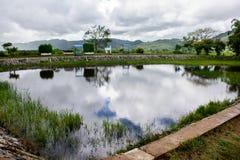 Htee Pwint See, Kayah-Zustand, Myanmar Lizenzfreie Stockfotos