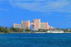 Hôtel de l'Atlantide en Bahamas Photos libres de droits