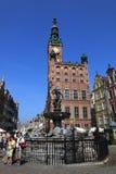 Hôtel de ville de Danzig Photo libre de droits