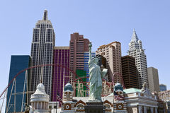 Hôtel et casino de New York New York à Las Vegas Images libres de droits