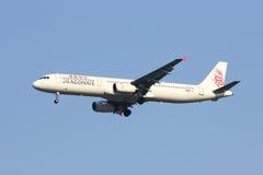Β-HTF airbus A321-100 Dragonair Στοκ Εικόνα