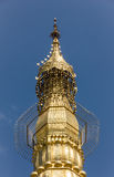 Hti of Sule Pagoda Royalty Free Stock Photos