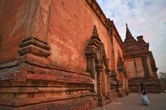 Htilo Minlo Temple Bagan στοκ φωτογραφίες με δικαίωμα ελεύθερης χρήσης