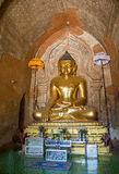 Htilomillio Bouddha, Bagan, Myanmar Image stock