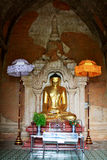 Htilominlo寺庙菩萨图象, Bagan,缅甸 库存照片