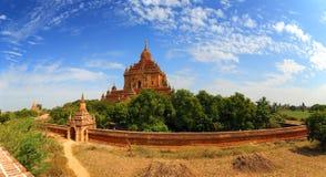 Htilominlo Pagoda in Bagan, Myanmar Royalty Free Stock Images
