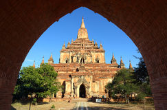Htilominlo Pagoda in Bagan, Myanmar Royalty Free Stock Photography
