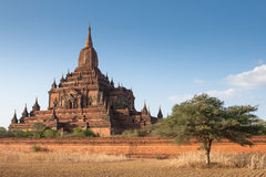 Htilominlo-Tempel, Bagan, Myanmar Stockbild