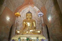 Htilominlo Templa, Bagan,缅甸 库存照片