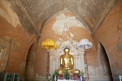 Htilominlo Templa, Bagan,缅甸 库存图片