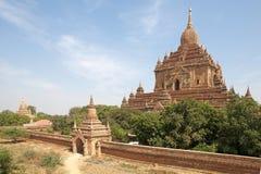 Htilominlo Templa, Bagan, Мьянма Стоковое Изображение RF