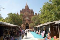 Htilominlo Templa, Bagan, Myanmar Imágenes de archivo libres de regalías