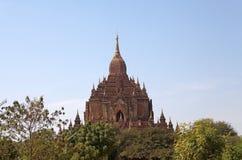 Htilominlo Templa, Bagan, Myanmar Imagen de archivo
