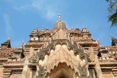 Htilominlo Templa, Bagan, Myanmar Foto de archivo