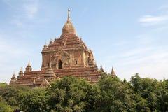 Htilominlo Templa, Bagan, Myanmar Fotos de archivo libres de regalías