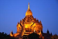 Htilominlo Temple stock photo