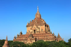 Htilominlo Temple, Bagan, Myanmar Stock Photo