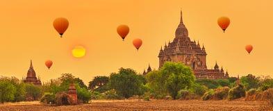 Htilominlo Temple in Bagan. Myanmar. Royalty Free Stock Image
