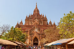 Htilominlo Temple Bagan Royalty Free Stock Image