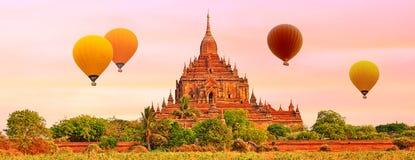 Htilominlo Temple in Bagan. Myanmar. Stock Image