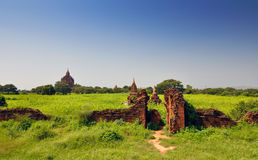 Htilominlo temple in Bagan, Myanmar Royalty Free Stock Images