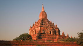 Htilominlo Temple located in Bagan, Myanmar stock footage