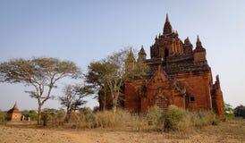 Htilominlo Temple at sunny day in Bagan, Myanmar Royalty Free Stock Images