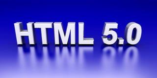 HTML 5.0 del Web page libre illustration
