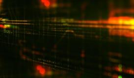 HTML-code de achtergrond van de programmeringssoftware 3d geef terug Royalty-vrije Stock Afbeeldingen