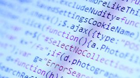 HTML codes stock footage